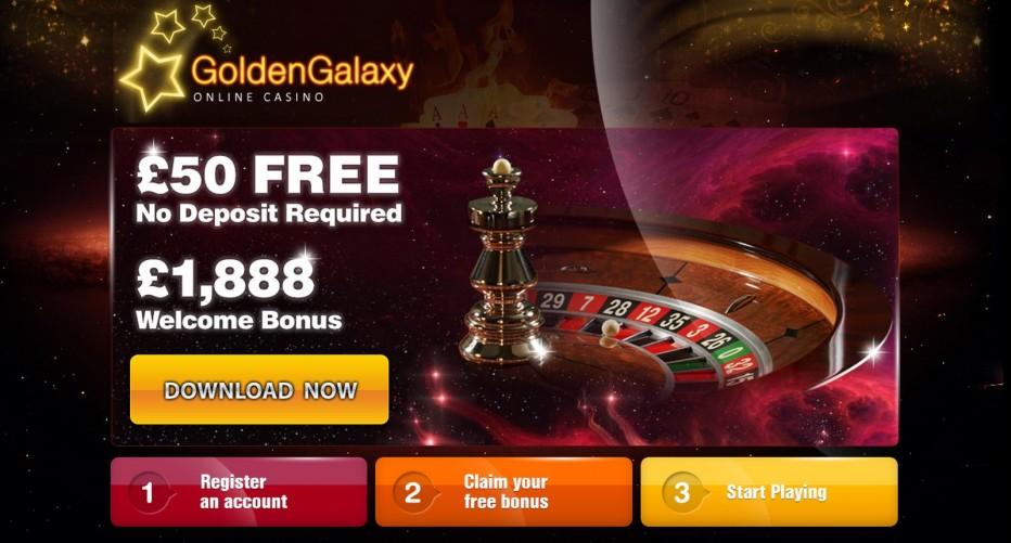 новый бездепозитный бонус от Golden Galaxy Casino