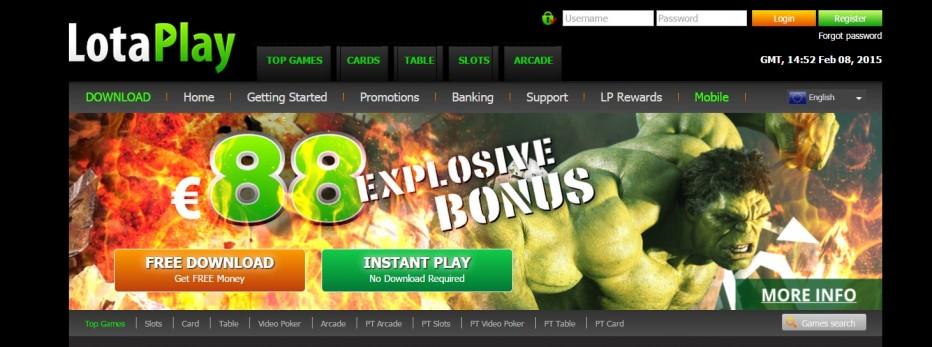 88$ подарок от LotaPlay Casino