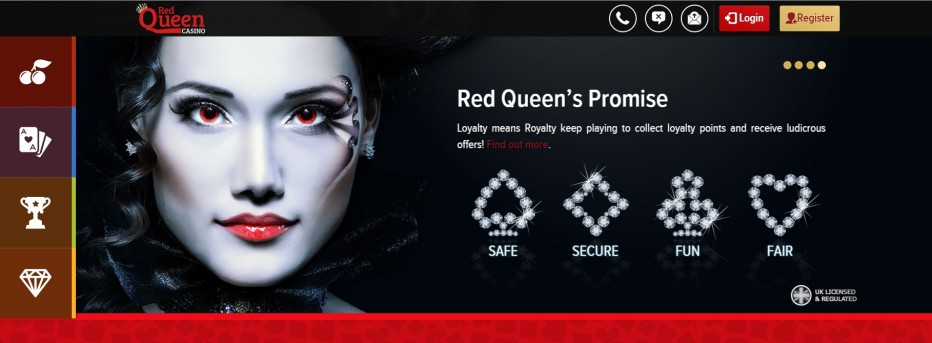 Бонус 10 $€£ без внесения депозита от казино RedQueen