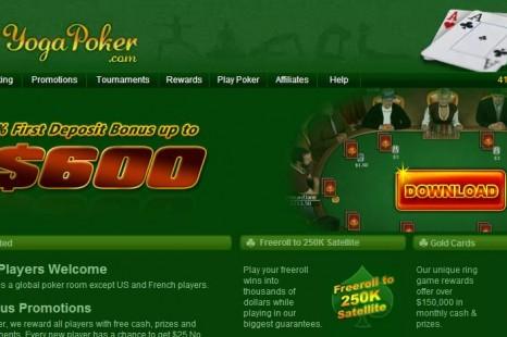 $25 Yoga Poker Бездепозитный бонус