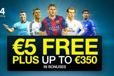 €5 Бездепозитный бонус MB24