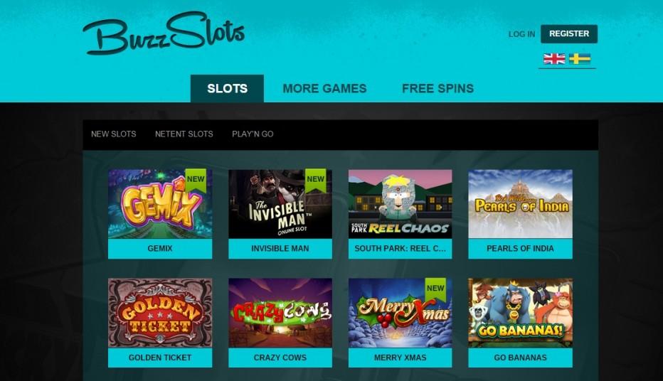 Мега бонус от Buzz Slots Casino 1000 фри спинов на на 1-й депозит