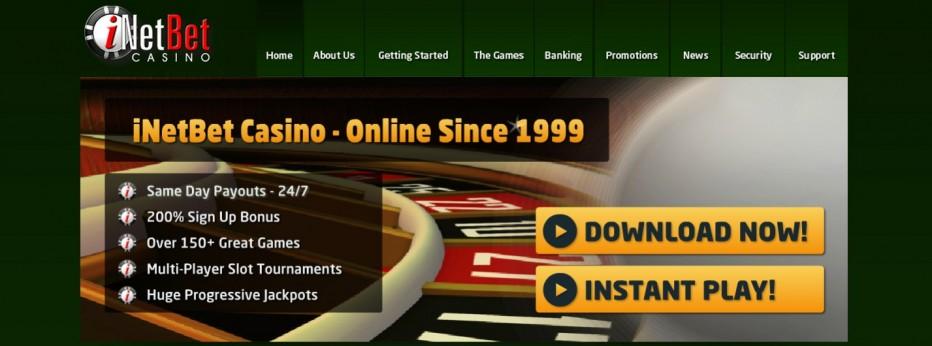 бонус 10 $ без депозита от казино iNetBet