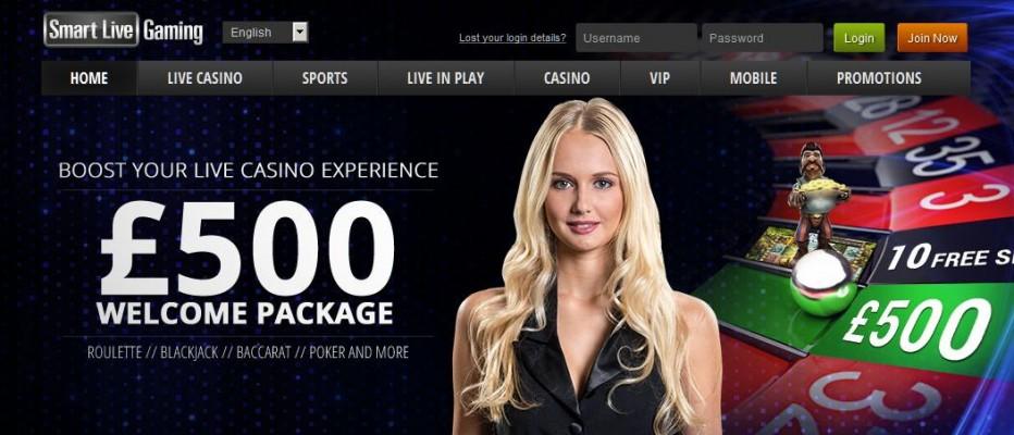 15 бесплатных вращения Smart Live Casino