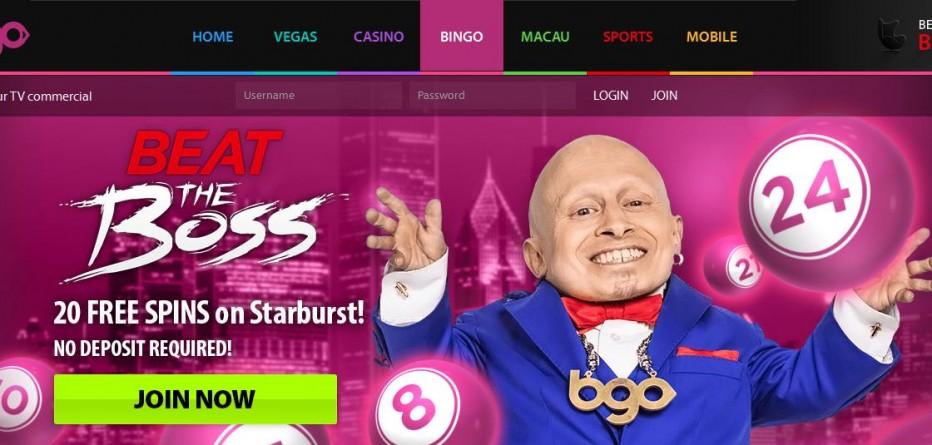 20 Бесплатных вращений Bgo Bingo
