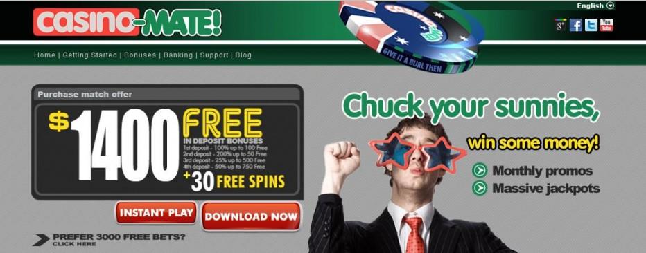 Free Play 3000$ Mate Casino