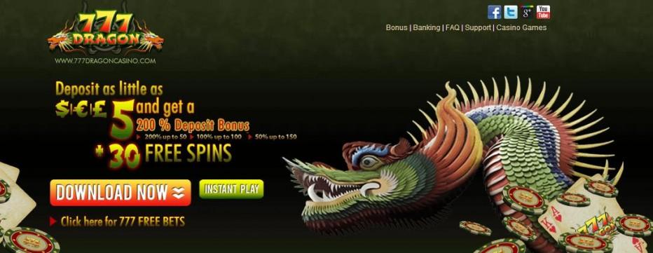 Free Play 777$ 777 Dragon Casino