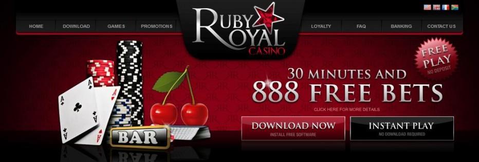 Free Play 888$ Ruby Royal Casino