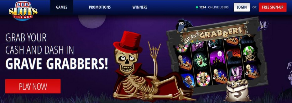 Бездепозитный бонус 25$ Slots Village Casino