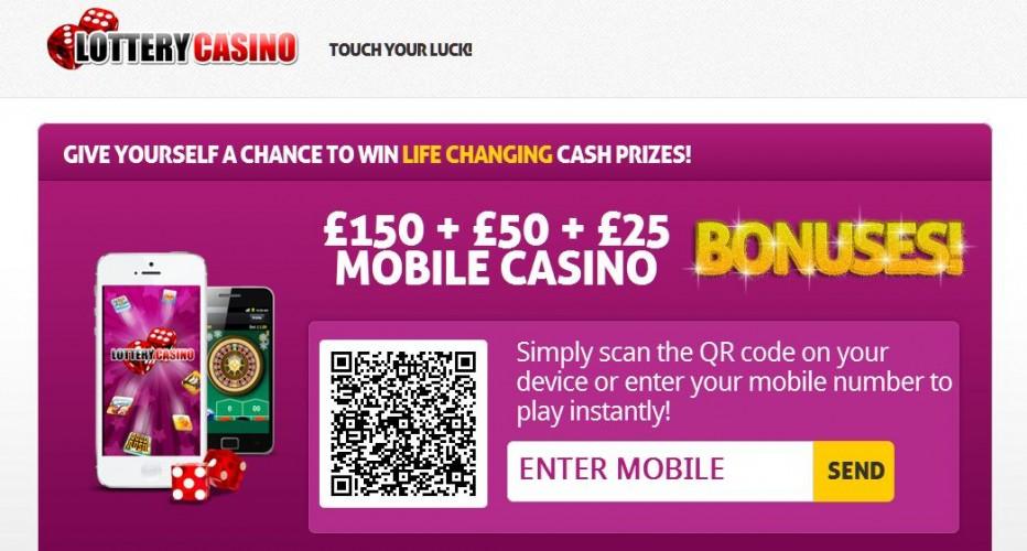 Бездепозитный бонус 5$ Lottery Casino