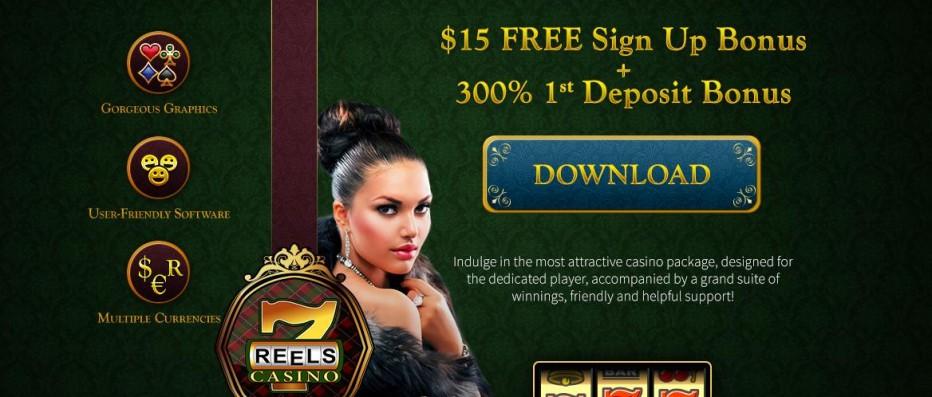 Бездепозитный бонус 15$ 7Reels Casino