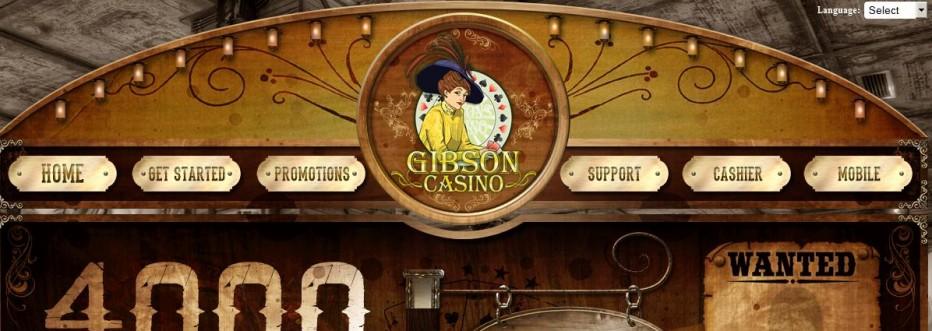 Бездепозитный бонус 25$ Gibson Casino