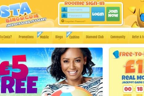 Бездепозитный бонус £5 Costa Bingo