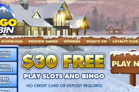 Бездепозитный бонус $30 BingoCabin