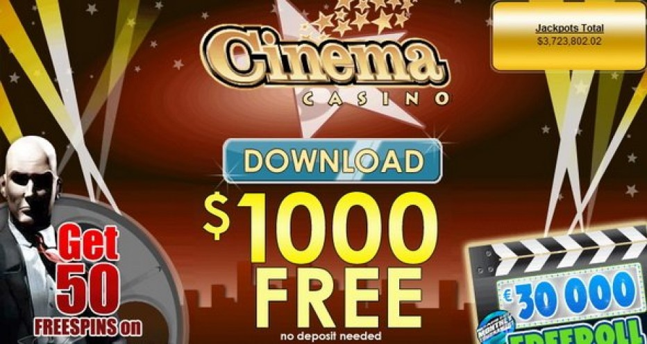Free Play 1000$ Cinema Casino