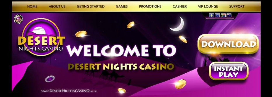 Бездепозитный бонус 10$ Desert Nights Casino