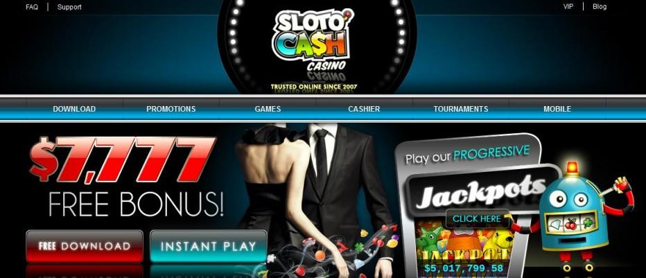 Бездепозитный бонус 31$ SlotoCash Casino