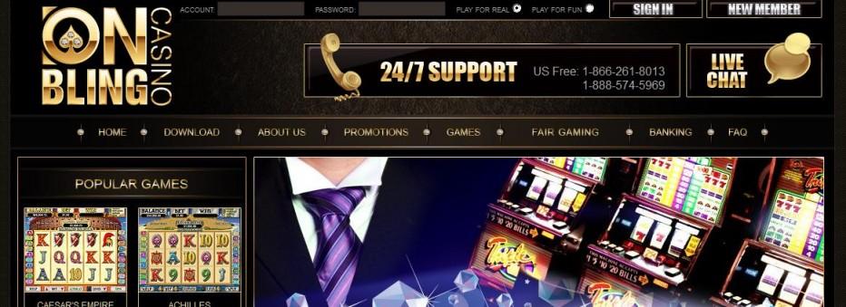 50 бесплатных вращений Onbling Casino