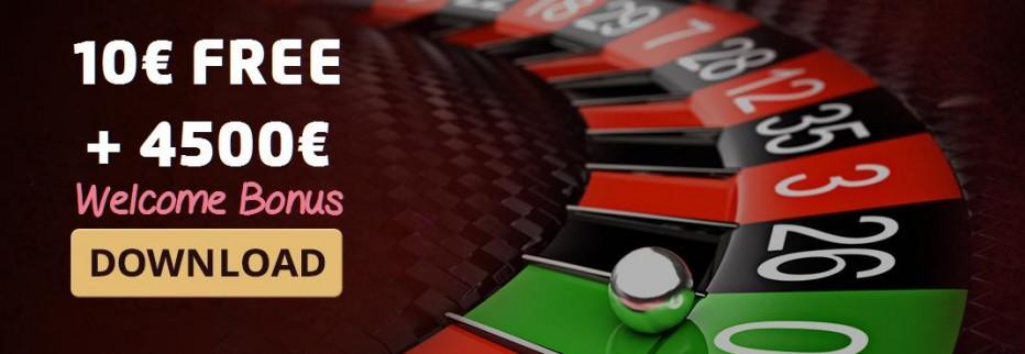 Бездепозитный бонус €10 Tradition Casino