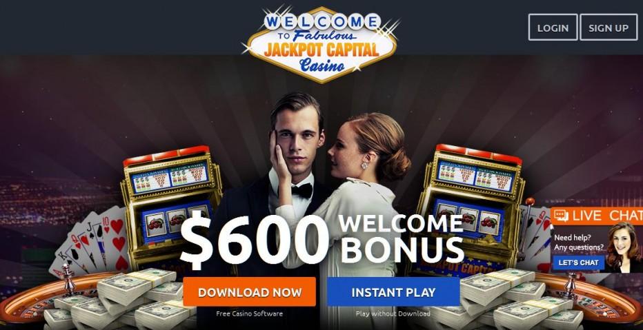 25 бесплатных вращений Jackpot Capital Casino