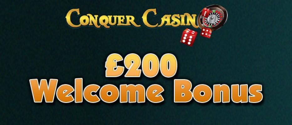 25 бесплатных вращений Conquer Casino