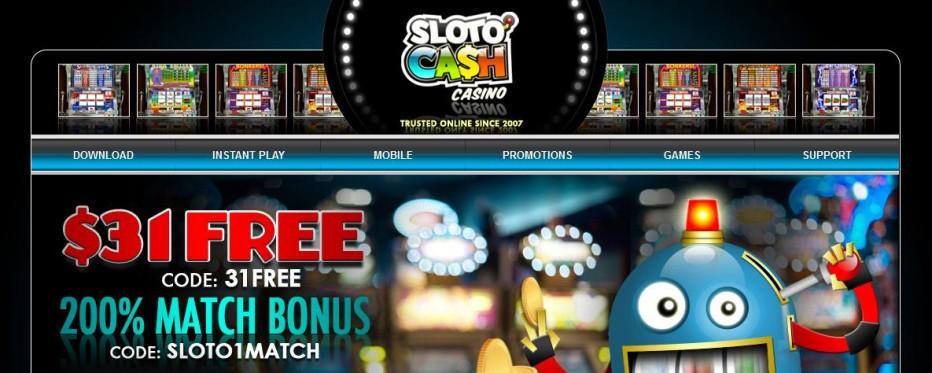 131 бесплатных вращений SlotoCash Casino