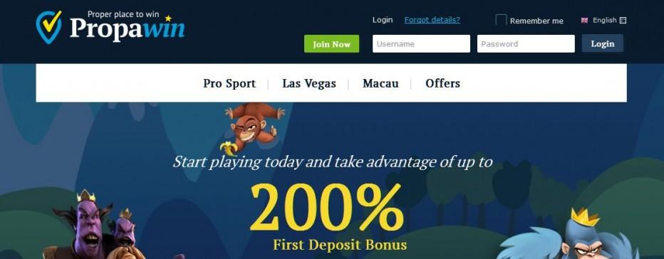 10 бесплатных вращений PropaWin Casino