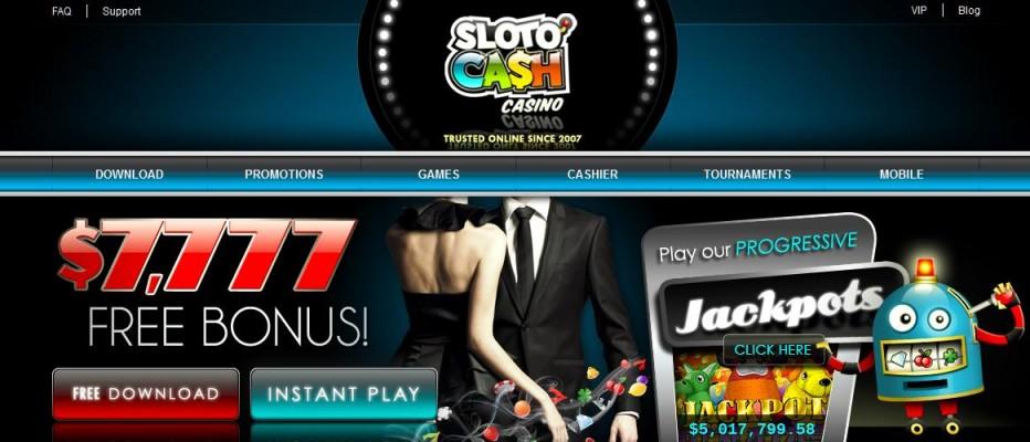 13 бесплатных вращений SlotoCash Casino