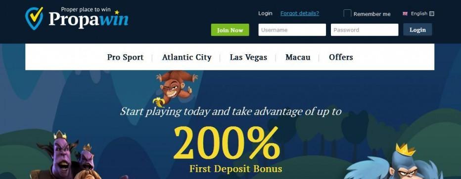 25 бесплатных вращений PropaWin Casino