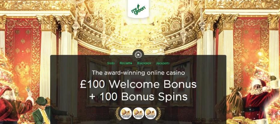 10 бесплатных вращений Mr Green Casino