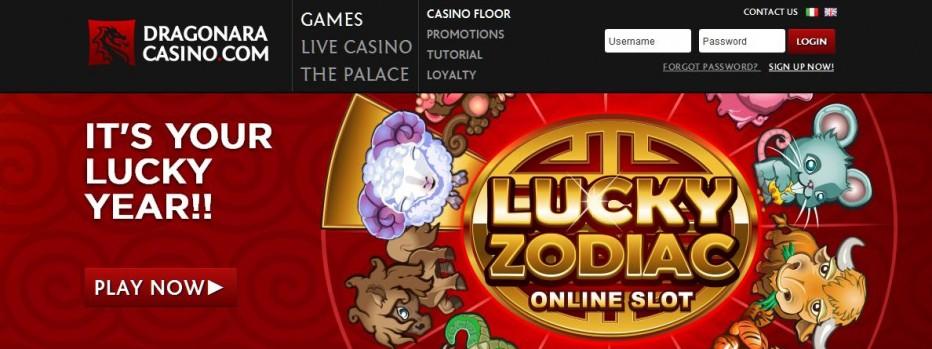 20 бесплатных вращений Dragonara Online Casino