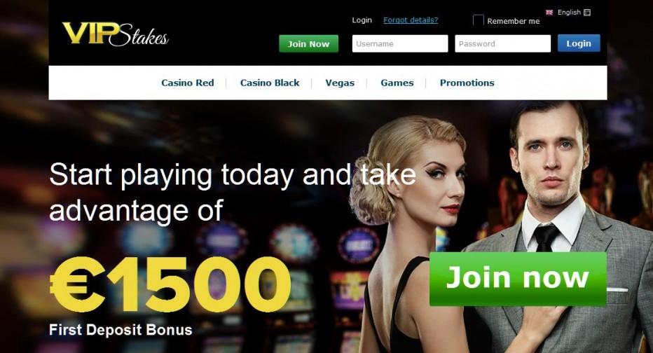 Бездепозитный бонус €10 VIP Stakes Casino