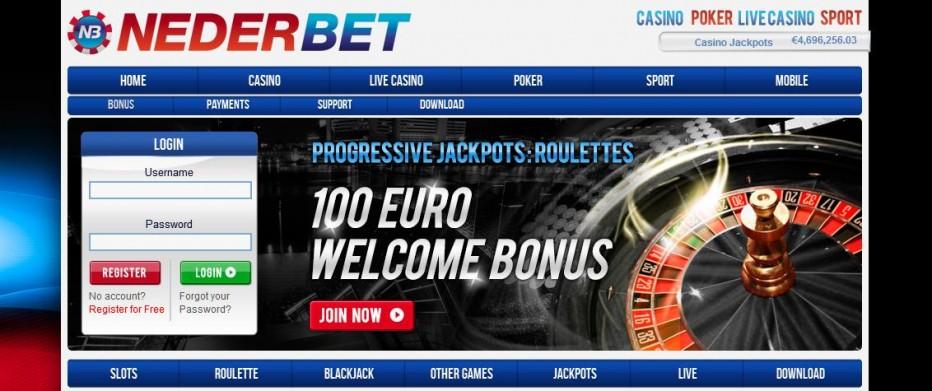 7 бесплатных вращений Nederbet Casino