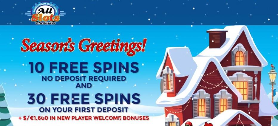 10 бесплатных вращений All Slots Casino