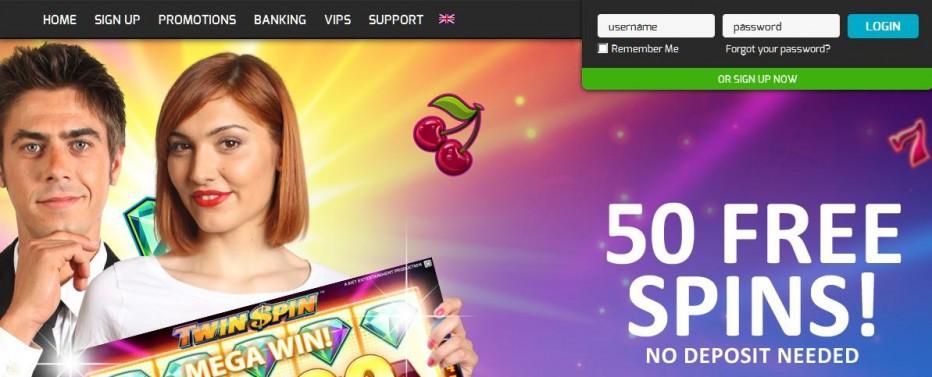 50 бесплатных вращений Hello Casino
