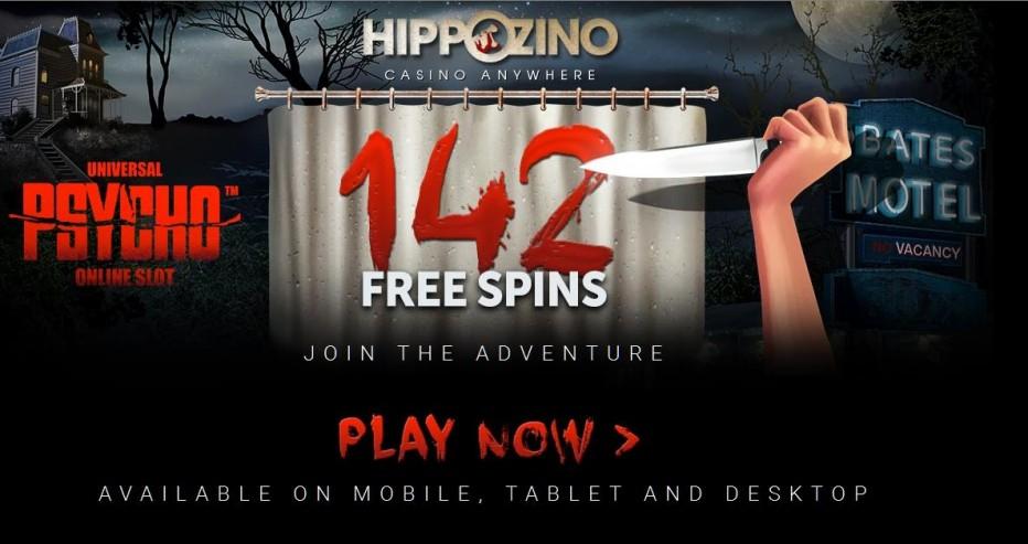 22 бесплатных вращений Hippozino Casino