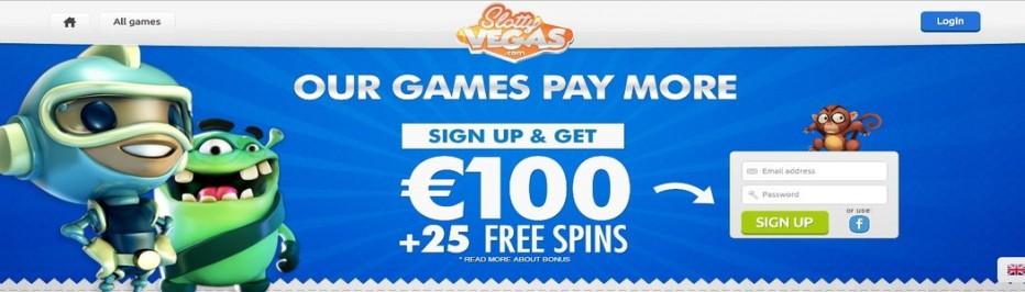 15 бесплатных вращений Slotty Vegas Casino