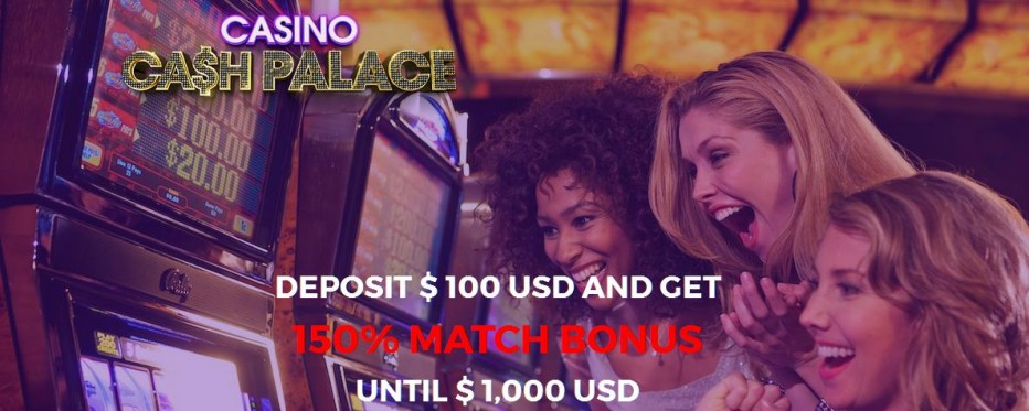 Депозит бонус $50 Cash Palace Casino