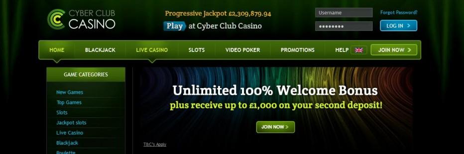 25 бесплатных вращений Cyber Club Casino