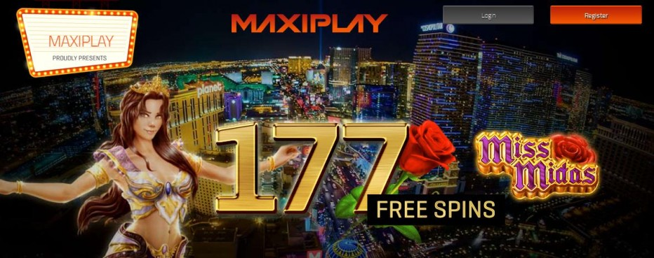 17 бесплатных вращений MaxiPlay Casino