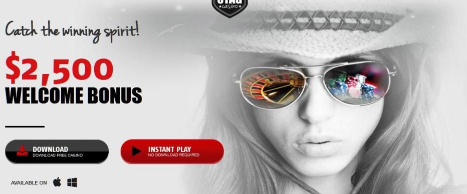 Бездепозитный бонус $5 Red Stag Casino