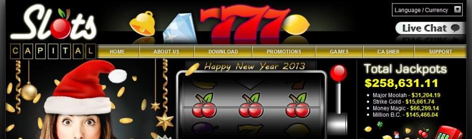 Бездепозитный бонус $50 Slots Capital Casino