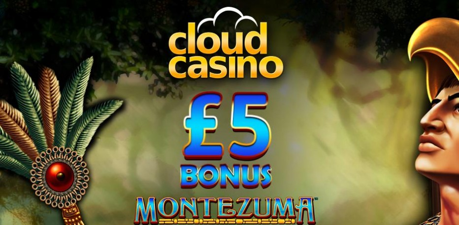 Бездепозитный бонус £5 Cloud Casino