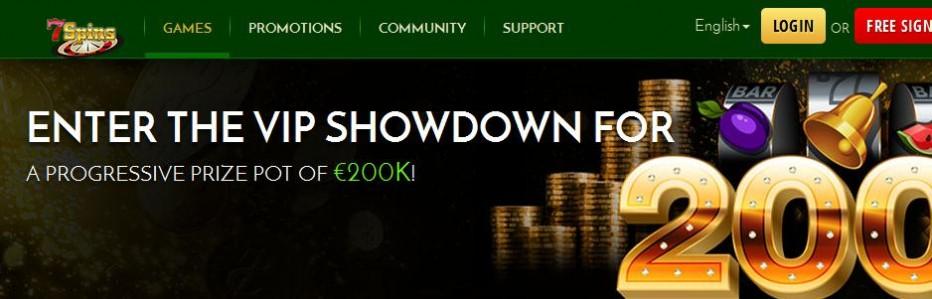 25 бесплатных вращений 7Spins Casino