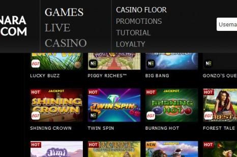 25 бесплатных вращений Dragonara Online Casino