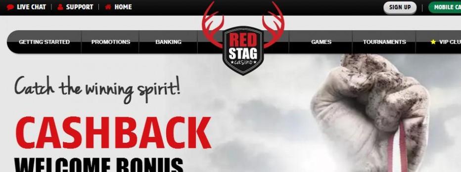 10 бесплатных вращений Red Stag Casino