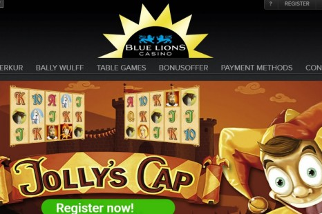 Бездепозитный бонус 5€ Blue Lions Casino