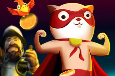 10 евро бесплатно за регистрацию в казино Super Cat (Супер Кот)