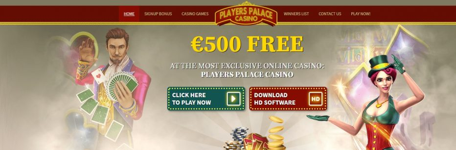 2000$ Фри Плей бонус казино Players Palace